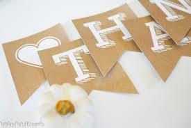 free printable thanksgiving banner paper crush