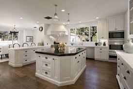 Timeless Kitchen Designs by Timeless Kitchen Design Cream Tile Floor Purple White Island Table