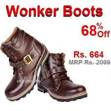 buy boots flipkart wonker boots flipkart shopping offer offersbiz