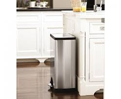 kitchen rectangular trash can kitchen images home design top to