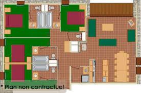 appartement 4 chambres location appartement la rosière les balcons la rosière