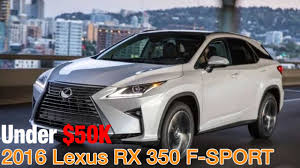 2016 lexus rx 350 f review 2016 lexus rx 350 f sport used car reviews