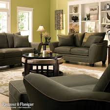 Raymour And Flanigan Living Room by Briarwood Microfiber Collection