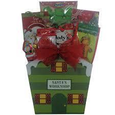 amazon com santa children u0027s holiday christmas gift basket