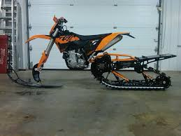 motocross bike dealers too bad i don u0027t live where it snows ktm tracked bike epicccc