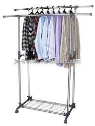 Bedroom Clothes Horse Bedroom Clothes Hanger Stand Stainless Steel Coat Hanger Stand