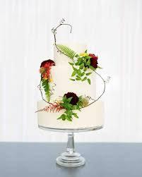 Cake Vase Set 62 Fresh Floral Wedding Cakes Martha Stewart Weddings