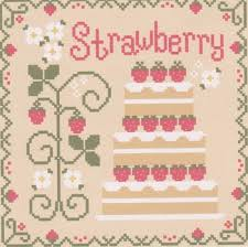 Country Cottage Needlework by Country Cottage Needleworks Cottage Cakes Strawberry Shortcake
