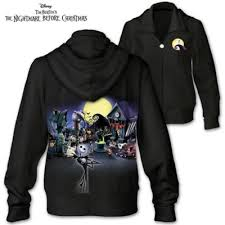 tim burton s the nightmare before custom hoodie