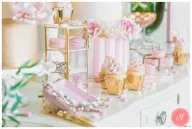 Pink And Gold Dessert Table by Valentine U0027s Day Pink Dessert Table Photos Gold Romantic Fun Chic