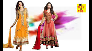 top online shopping indian dresses for women anarkali and