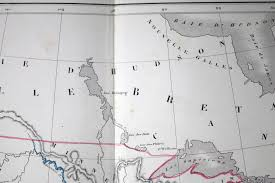 Map Of The United States And Canada by 1856 French Map Of The United States And Canada By Dussieux