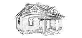 house to draw how to draw a house step by step