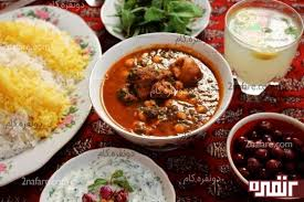 cuisine iranienne خورشت نخود اسفناج cuisine cuisine iranienne