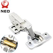 what size screws for cabinet hinges 4pcs ned super strong 40mm cup hinges stainless steel hydraulic