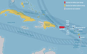 St Thomas Island Map Updated Mapping What U0027s Open And Closed In The Caribbean Travel