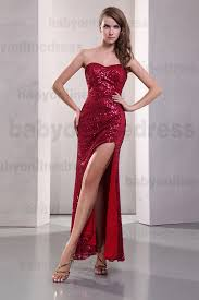 red vintage sweetheart evening dresses 2016 blingbling