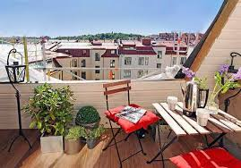 Irresistable Terrace Designs For Fresh And Dynamic Apartments - Apartment terrace design
