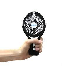 held battery operated fan pro shock 4 inch portable personal battery operated fan