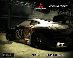 eclipse mitsubishi 2005 need for speed most wanted 2005 mitsubishi eclipse gt