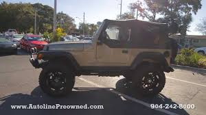 used jeep wrangler rubicon autoline preowned 2004 jeep wrangler rubicon for sale used review