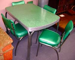 Leather Kitchen Table Chairs Vintage Kitchen Table And Chairs For Sale 14509