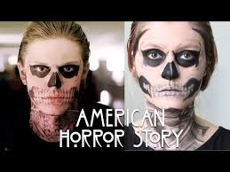 makeup tate langdon american horror story youtube