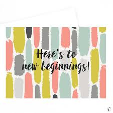 new beginnings greeting cards new beginnings greeting card shop the honey gazelle store
