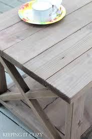 weathered pine coffee table keeping it cozy weathering wood with steel wool vinegar
