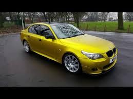 bmw e60 gold gold wrap car uk wrap gold