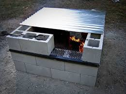 How To Make A Propane Fire Pit by Best 25 Cinder Block Fire Pit Ideas On Pinterest Cinder Block