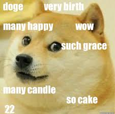 Create Your Own Doge Meme - birthday doge weknowmemes generator