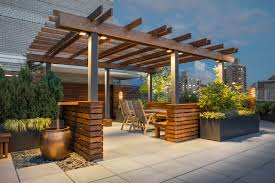 Decks With Roofs Pictures by Rooftops U2014 Evan C Lai Landscape Design Inc