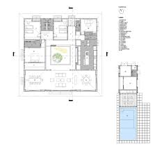 courtyard floor plans gallery of courtyard house rethink studio 14