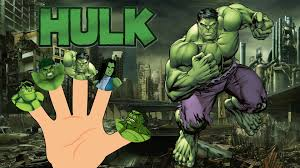 hulk finger family cartoon animation nursery rhymes children