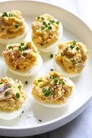 deviled egg plate target tuna deviled egg recipe skinnytaste