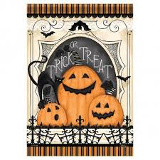 halloween garden flags