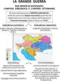 impero turco ottomano la grande guerra due imperi in difficolta l impero asburgico e l