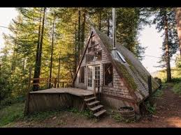 small a frame cabin amazing tiny a frame cabin in the redwoods great small house