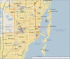 Miami City Map by Miami Fl United States Pictures Citiestips Com
