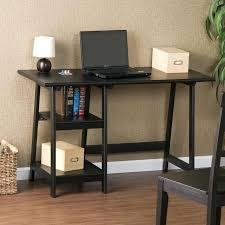 Black Ash Computer Desk Black Desk With Shelves U2013 Archana Me