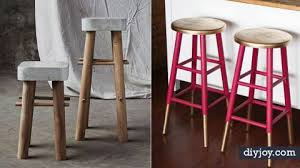 How To Make Bar Stools 31 Diy Barstools You Need To Make For Your Home Diy Joy