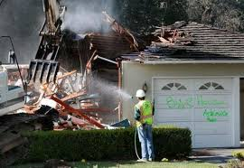 basement demolition costs in the bay area million dollar homes are torn down to start fresh