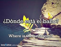 The Bathroom In Spanish 9 Best Spanish Phrases Images On Pinterest Learning Spanish