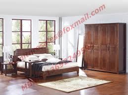 doors wardrobe in solid wood bedroom furniture sets
