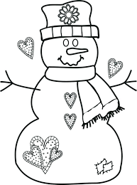 coloring page snowman family coloring page snowman excellent snowman coloring page kids coloring