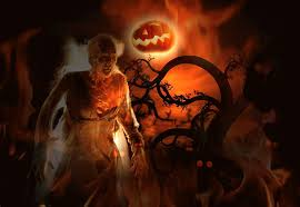 halloween back grounds creepy halloween wallpaper wallpapersafari