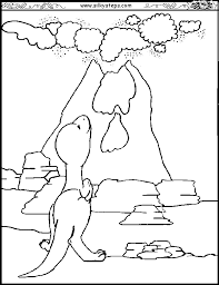 coloring pages volcano printable volcano coloring pages coloring home