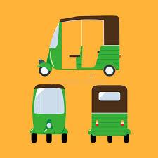 vector illustration auto rickshaw stock vector image 67420108