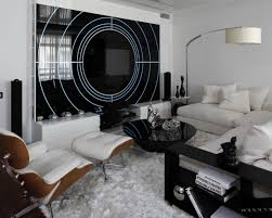 how to add black to your interiors for sophisticated style black and white interior is modern and chic
